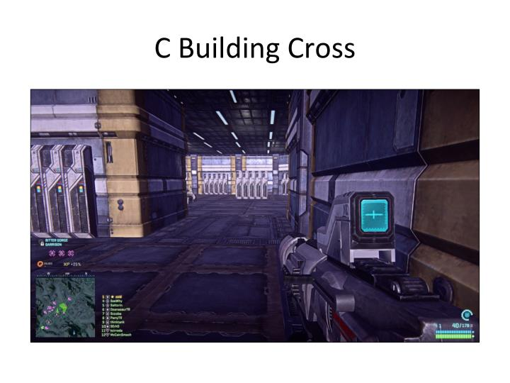 C Building Cross