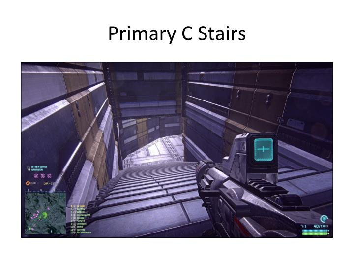 Primary C Stairs
