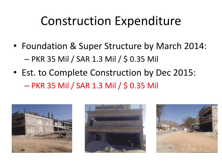 Construction Expenditure