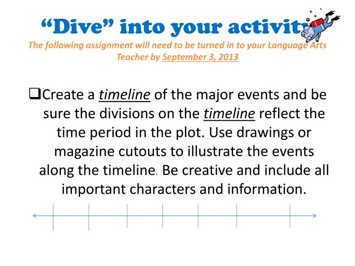 """Dive"" into your activity"
