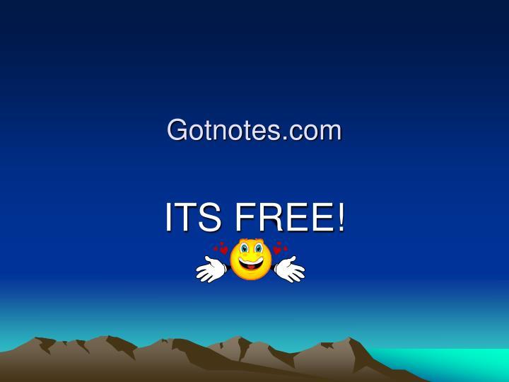 Gotnotes.com