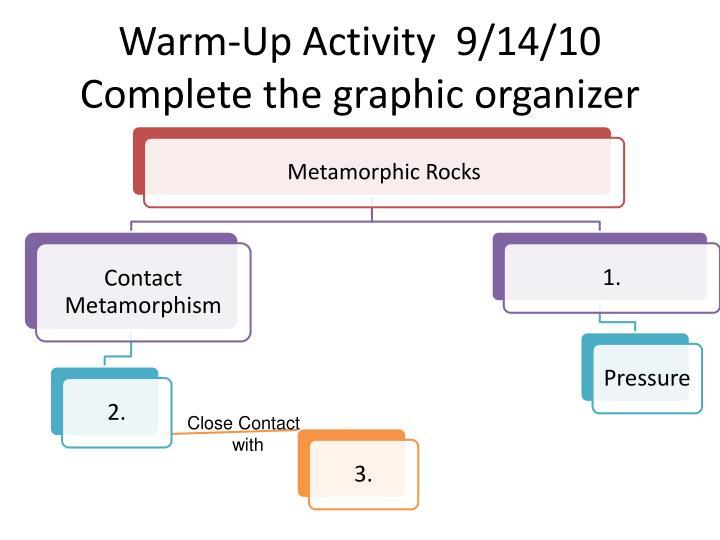 Warm-Up Activity  9/14/10