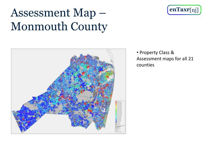 Assessment Map – Monmouth County