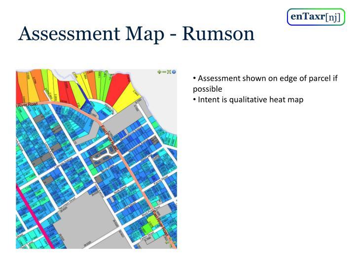 Assessment Map - Rumson