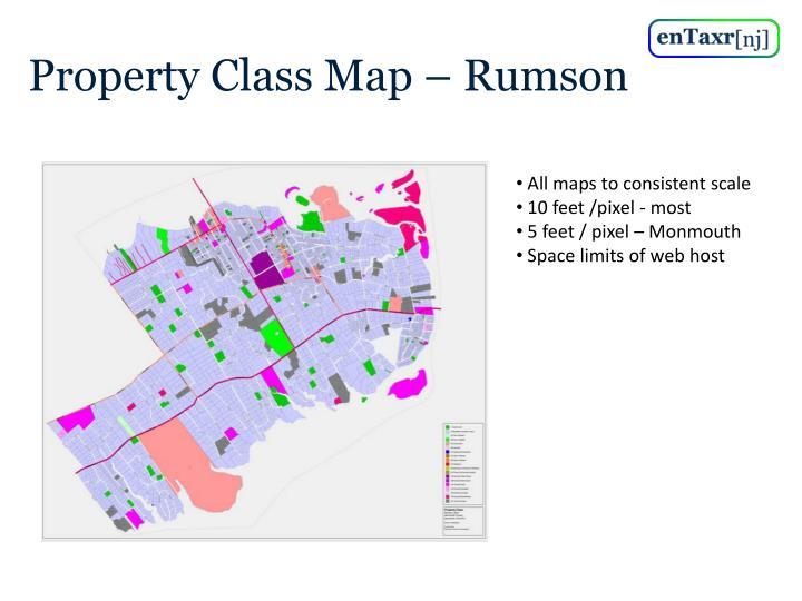 Property Class Map – Rumson