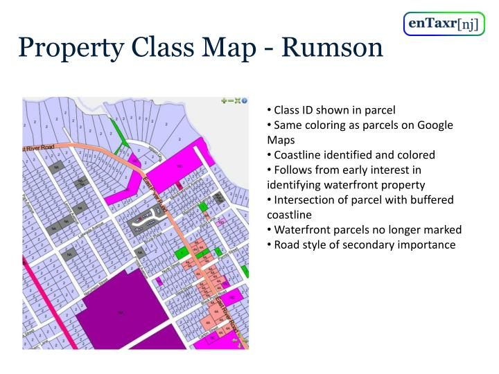 Property Class Map - Rumson
