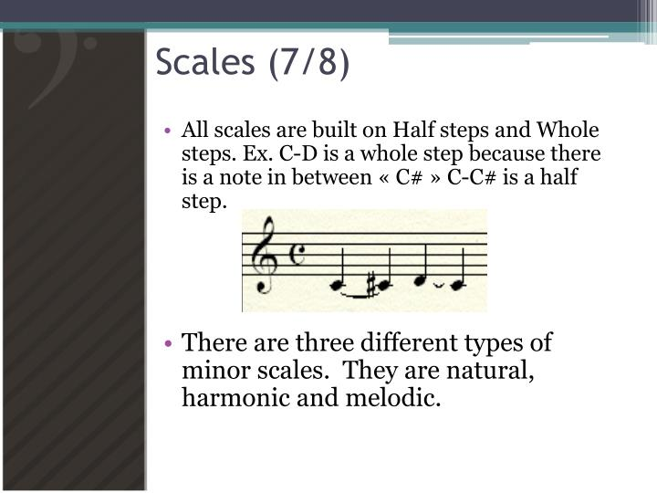 Scales (7/8)