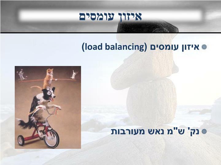 איזון עומסים