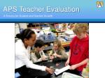 aps teacher evaluation1