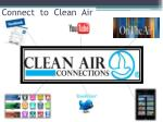 connect to clean air