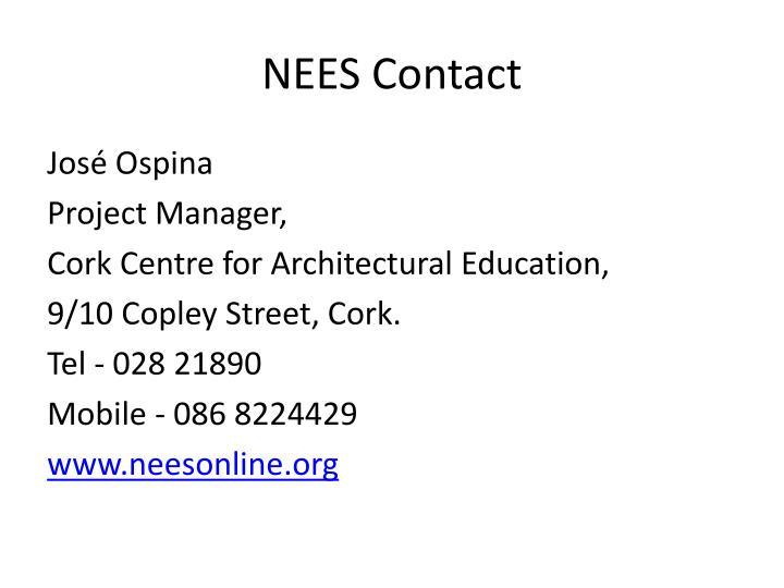 NEES Contact