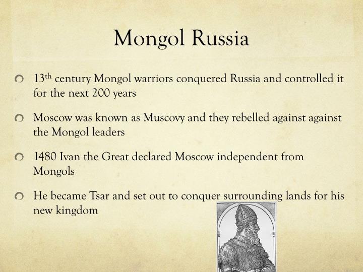 Mongol Russia