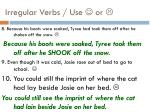 irregular verbs use or2