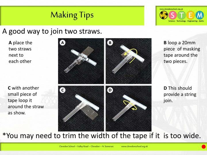 Making Tips