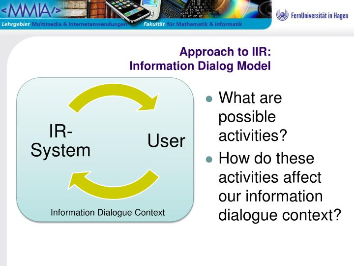 Approach to IIR: