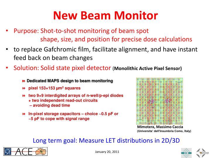 New Beam Monitor