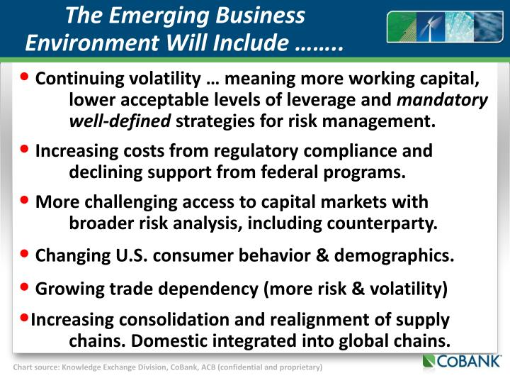 The Emerging Business Environment