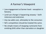 a farmer s viewpoint