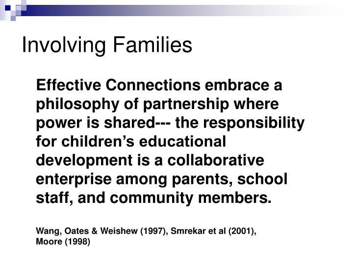 Involving Families