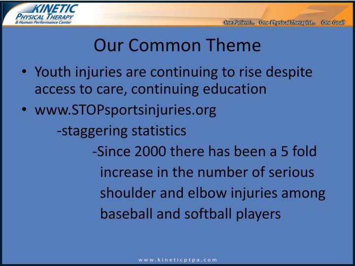 Our Common Theme