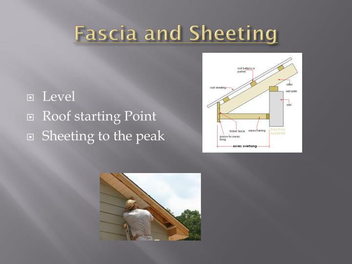 Fascia and Sheeting