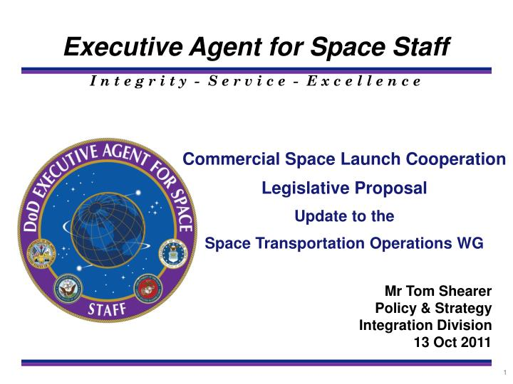 Commercial Space Launch Cooperation