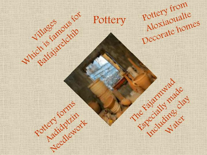 Pottery from Aloxiaoualte