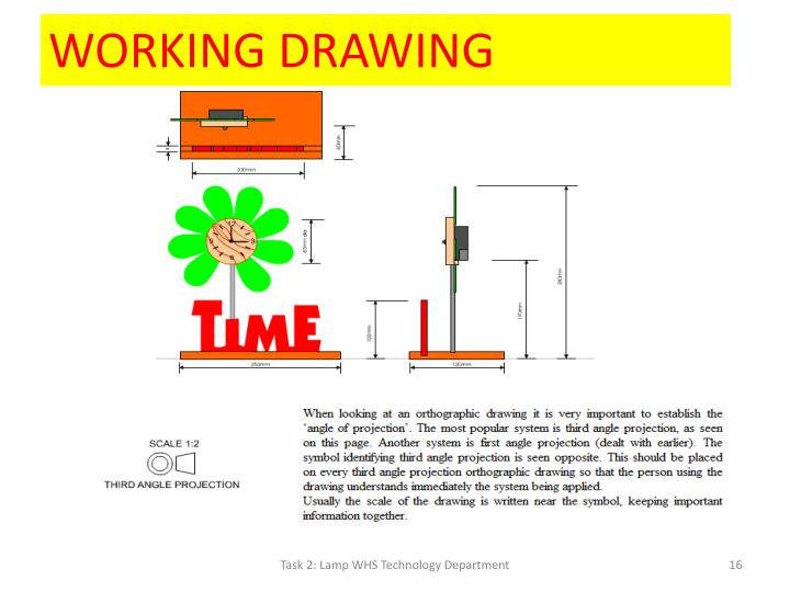 WORKING DRAWING