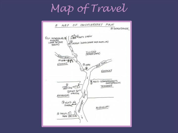 Map of Travel