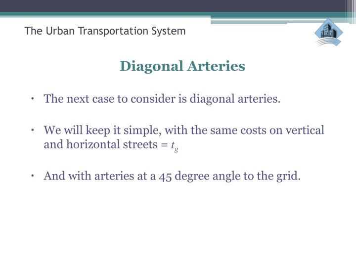 The Urban Transportation System