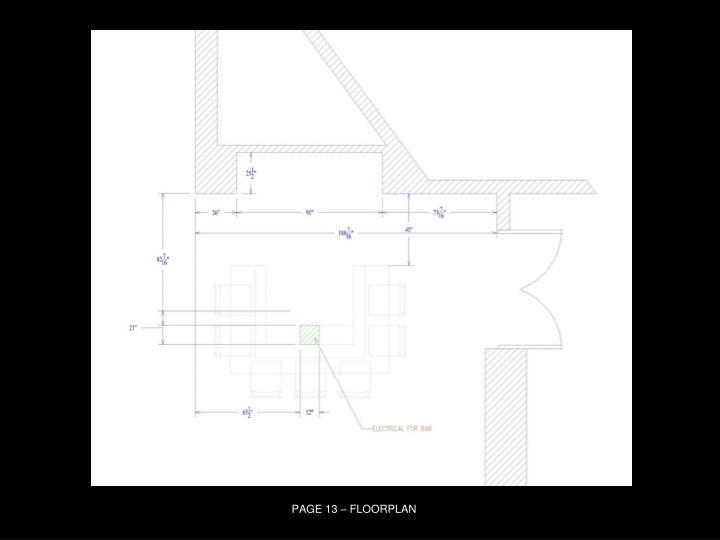 PAGE 13 – FLOORPLAN