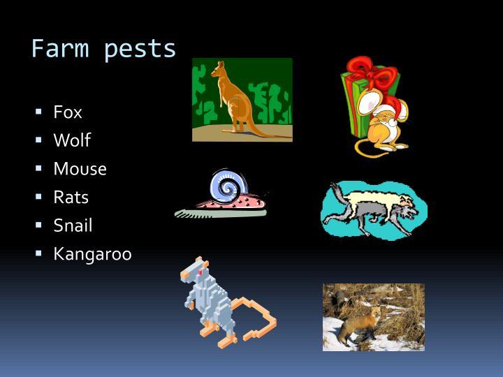 Farm pests