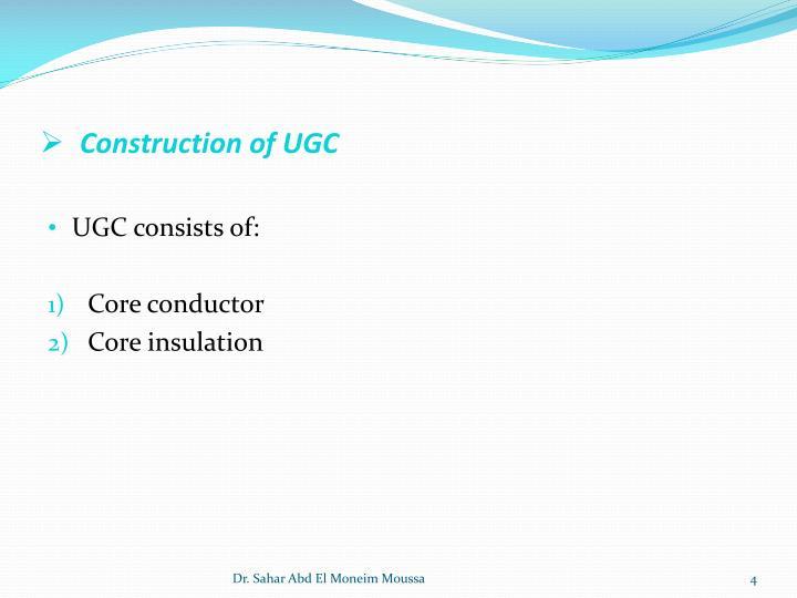Construction of UGC