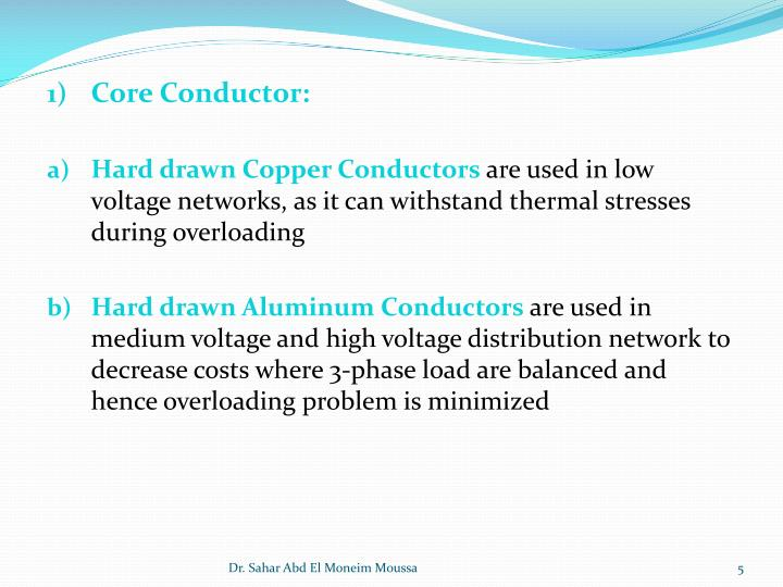 Core Conductor: