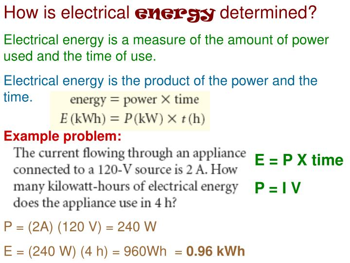 How is electrical