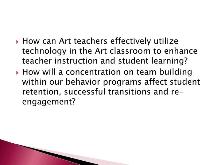 How can Art teachers effectively utilize technology in the Art classroom to enhance teacher instruction and student learning?