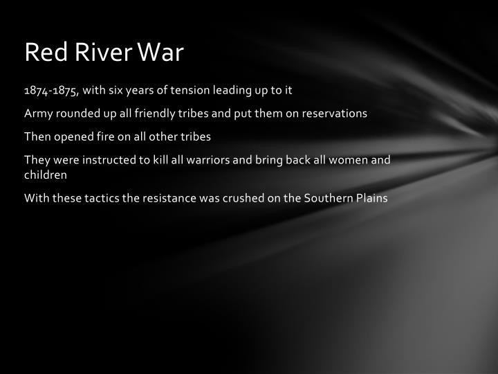 Red River War