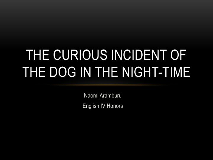 curious incident of the dog essay questions