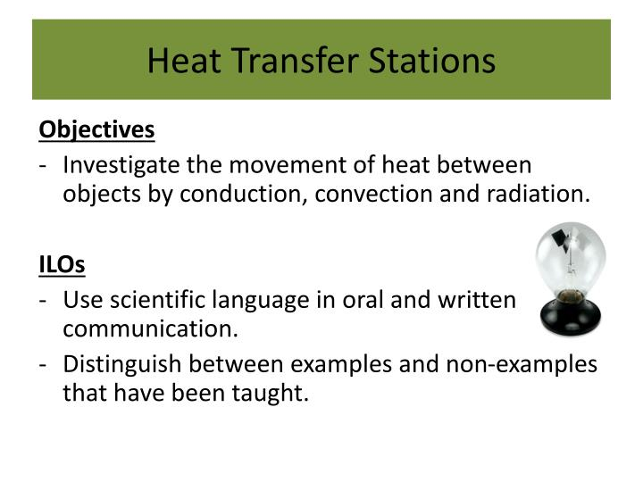 Heat Transfer Stations