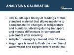 analysis calibration1