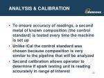 analysis calibration2