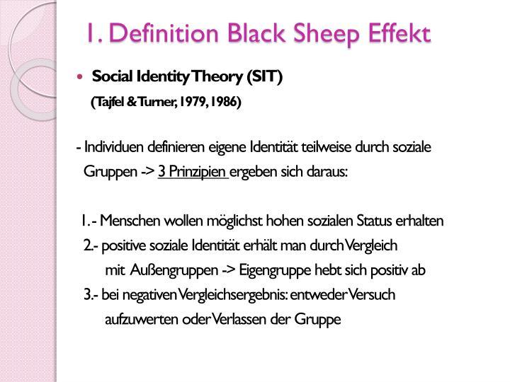 1. Definition Black