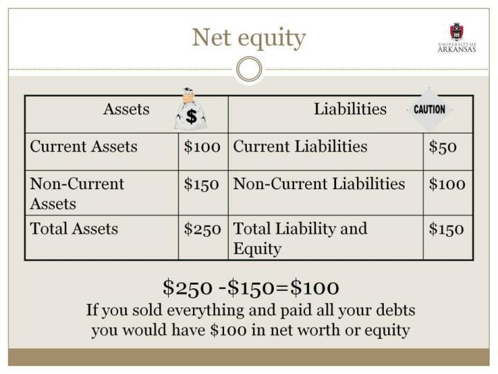 Net equity