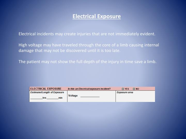 Electrical Exposure