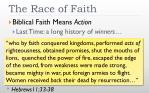 the race of faith1