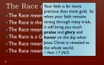 the race of faith33