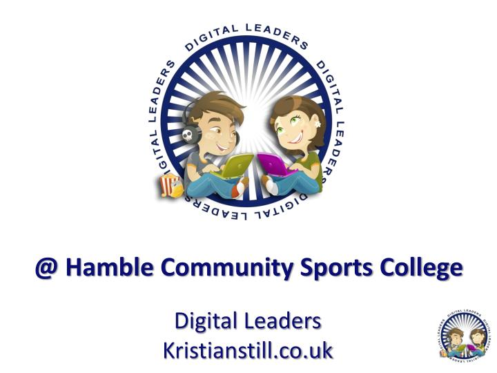 @ hamble community sports college