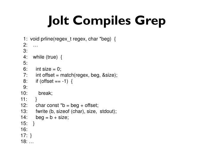 Jolt Compiles