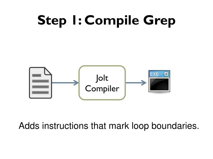 Step 1: Compile