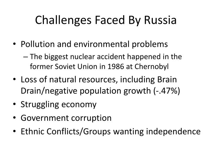 nuclear pollution plagues former soviet union essay